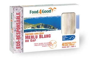 Merlu blanc du Cap Food4Good