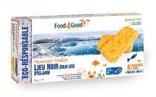 Tranches panées de Lieu Noir (Colin Lieu) d'Islande