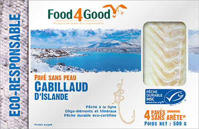 Cabillaud d'Islande