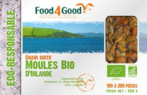 Moules Bio d'Irlande
