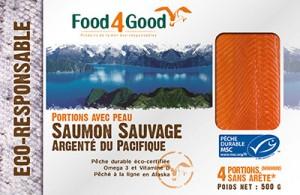 Saumon Sauvage Argenté du Pacifique