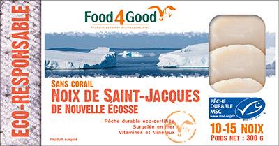Noix de Saint-Jacques de Nouvelle Ecosse